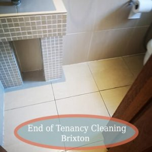 deep cleaning brixton