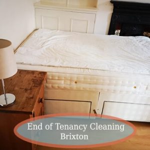 end of tenancy clean brixton